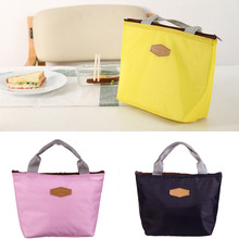 Fashion New Fresh Insulation Cold Bales Thermal Oxford Lunch Bag Waterproof Convenient Leisure Cute Tote