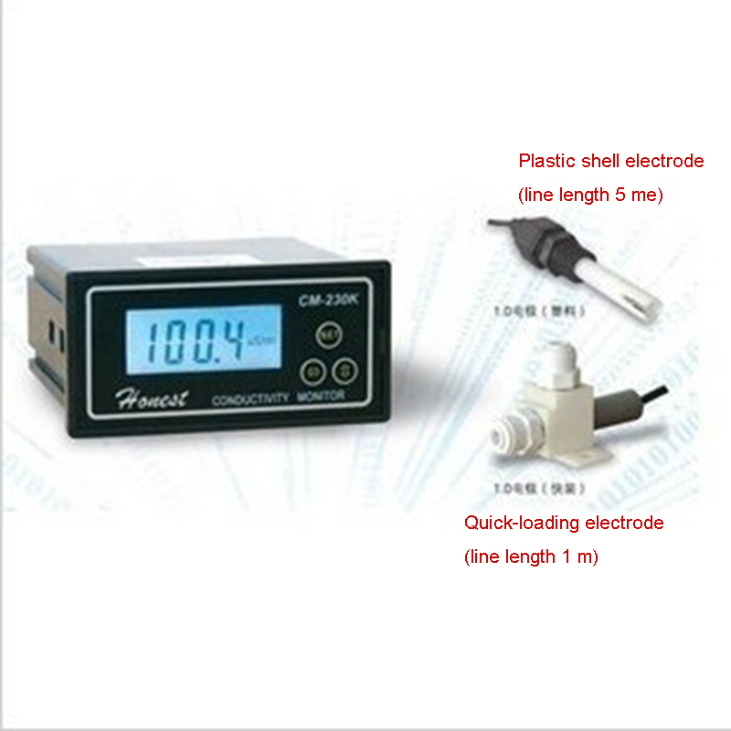 Conductivity Monitor Conductivity Tester Conductivity Meter  CM-230K With Current Signal  H023