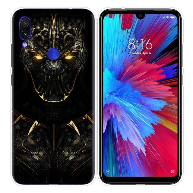 Marvel Heroes Black Panther Case for Xiaomi Redmi Note 8T 8 7 9S K20 K30 Pro 7A Mi CC9 10 9T 9 A3 Lite F2 X2 TPU Phone Coque Ta