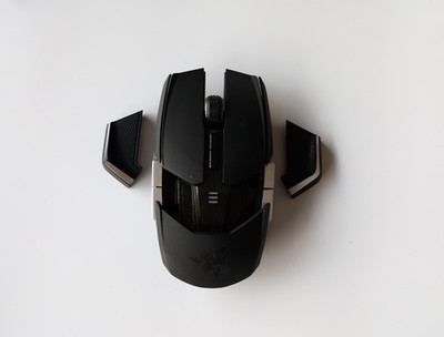 Original Mouse Accessories For Razer Ouroboros Mouse Side Shell Motherboard Tail Case/feet/battery Cover