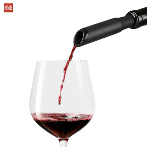 Image 1 - Newest Huohou Fast Decanter Red Wine Decanter Pouring Tools Mini Wine Filter Air Intake Bottle Pourer Aerator For Family Bar