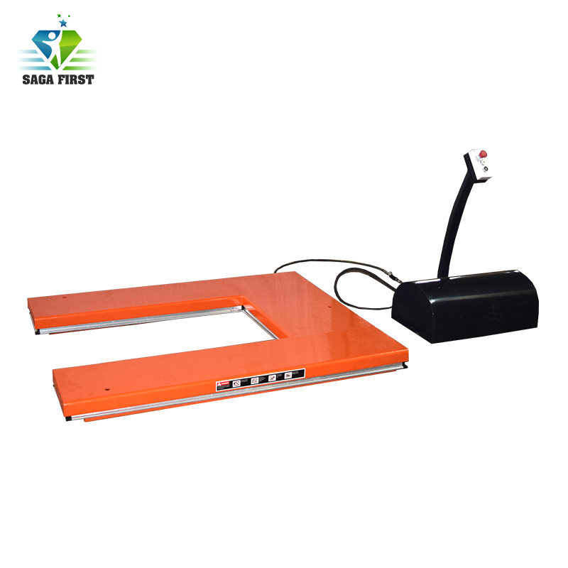 New Design U Type Scissor Lift Table For Pallet Lifting