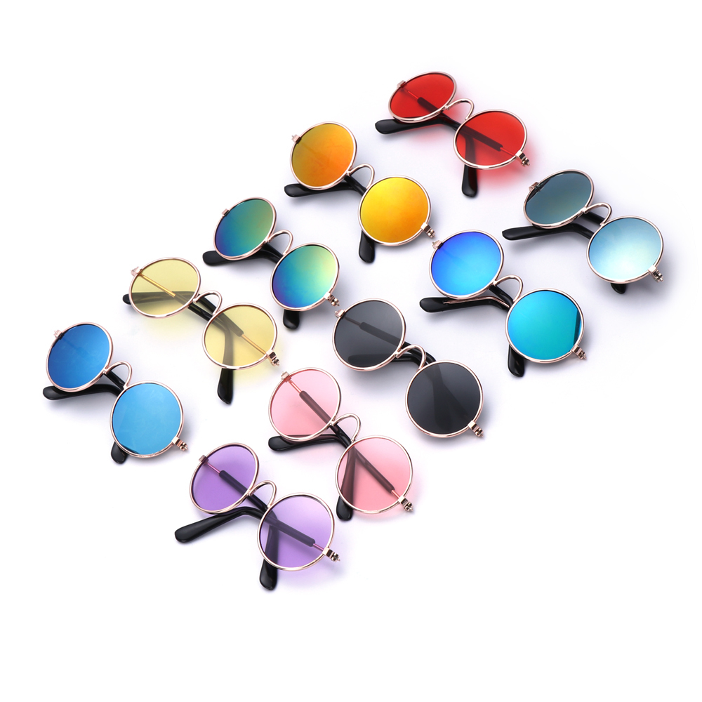 1PC Lovely Pet Cat Glasses Dog Glasses Pet Products For Little Dog Cat Eye wear Protection Dog Sunglasses Photos Pet Accessoires