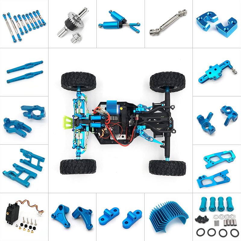 For Wltoys 1//12 12428 12423 Off-road 1//12 RC Crawler Upgrade Rear Drive Shaft *