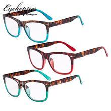 R080D Eyekepper женские очки для чтения-3 пакет большие линзы Стильные Читатели для женщин