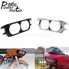 אופנוע פנס Fairing Bezel כיסוי עבור הארלי CVO כביש Glide Ultra FLTRU FLTRX FLTRXSE FLTRUSE מיוחד FLTRXS 2015 2019