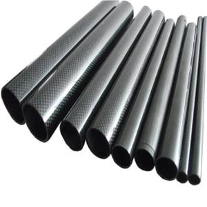Image 4 - 4Pcs 3K Carbon Fiber Ronde Buis Plain Glossy Lengte 500Mm Hoge Hardheid Od 8Mm 10Mm 12Mm 16Mm 20Mm 25Mm 30Mm