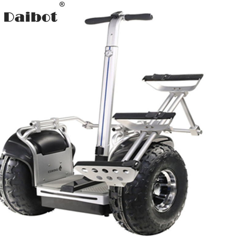 New Off Road Electric Scooter Personal Golf Carts 19 Inch Self Balancing Hoverboard 2400W Electric Golf Scooter With GPS/APP image