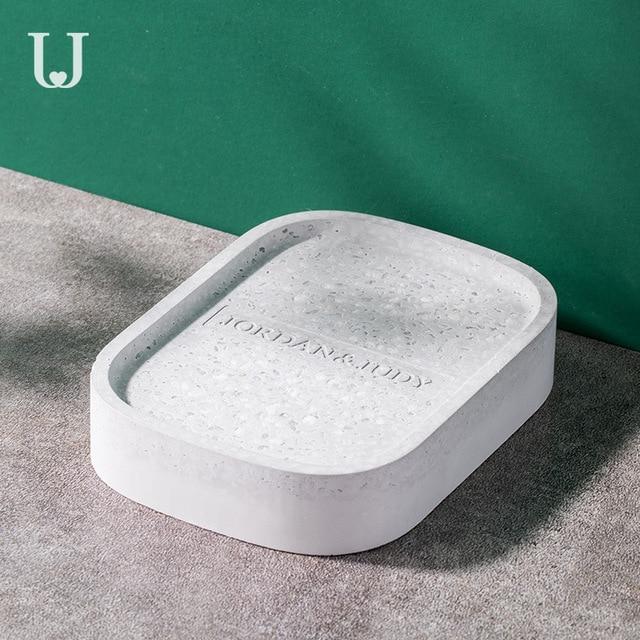 Youpin Jordan&Judy Diatom Mud Soap Tray Bathroom Quick drying Absorbent Pad Diatom Pad Moistureproof Soap Box