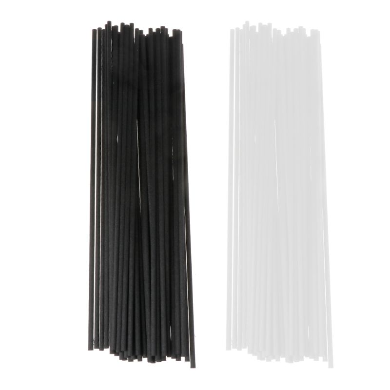 50Pcs/set 21.5cmx3mm Fiber Sticks Diffuser Aromatherapy Volatile Rod For Home Fragrance Diffuser Home Decoration