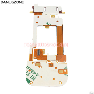 Image 2 - 10PCS/Lot For Nokia 2220 2220S LCD + Keyboard Button Board Keyboard Slide Flex Cable