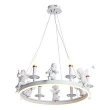 Nordic creative personality birds resin droplight sitting room of contemporary and contracted study bedroom restaurant cafe