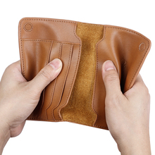 Vintage Business Passport Covers Holder Travel Accessories Men ID Bank Card Genuine Leather Wallet Case Portable Boarding Cover