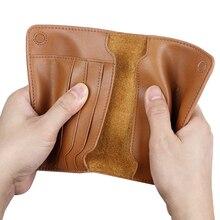 Vintage جواز سفر الأعمال يغطي حامل إكسسوارات السفر الرجال ID البنك بطاقة محفظة جلدية حقيقية قضية غطاء الصعود المحمولة