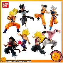 Original BANDAI Battle VS Gashapon PVC Toy   Gokou Kakarotto Gohan Gotenks Cumber(evil saiyan) Buu