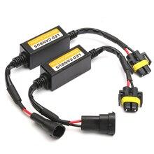 2 pièces H11 phare LED Canbus Anti scintillement sans erreur résistance annuleur décodeur fournitures de voiture en gros livraison rapide livraison directe