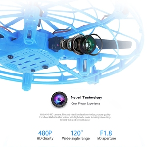 Image 4 - Mini Drone UFO Dron With Camera Gesture Gravity Induction Drones Quadcopter Anti collision Magic Hand UFO Ball Aircraft Kids Toy