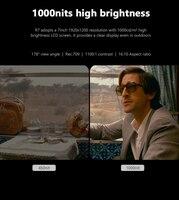 "nikon sony Bestview R7 7"" IPS DSLR מצלמת צג המגע עם 4K HDMI LCD FHD 1920x1200 תצוגת מצלמת שדה צג עבור Nikon Sony Canon (2)"
