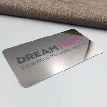 Кредитная карта стандартного размера металлическая визитница