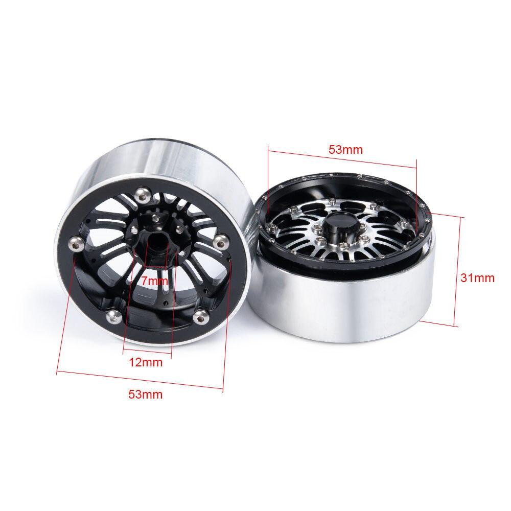 攀爬车-2.2英寸金属轮毂-5号-银+黑X1-(14)