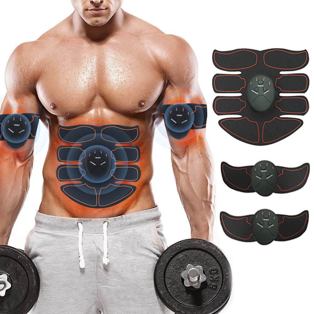 Muscle Stimulator Hips Muscle Trainer Abs EMS Wireless Smart Abdominal Muscle Toner Home Gym Workout Machine For Men Women image
