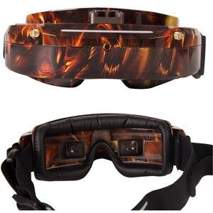 Image 5 - Original skyzone sky03o/sky03s oled versão 5.8ghz 48ch diversidade fpv óculos de proteção suporte osd dvr hdmi com cabeça rastreador fã