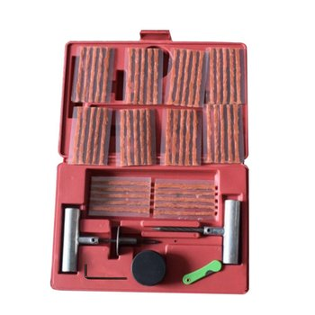 57pcs Tire Repair Kit Flat Tire Repair Tool Car Truck Motorcycle Tire Repair Tool Tire Repair Equipment