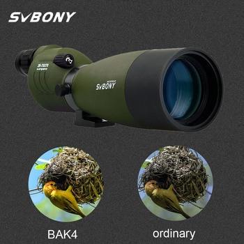 SVBONY Spotting Scope 25-75x70 Zoom Telescope SV17 BAK4 Prism Powerful Monocular Hunting Spyglass Waterproof Long Range Optics 1