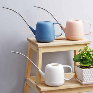 Image 2 - Watering can Stainless steel long mouth watering pot Succulents Special Plant Flower Sprinkling bottles gardening tools
