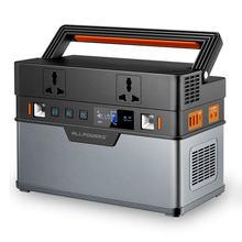 Allpowers 500w gerador portátil 6666wh/185200mah fonte de alimentação de emergência onda senoidal pura com dc/ac inversor
