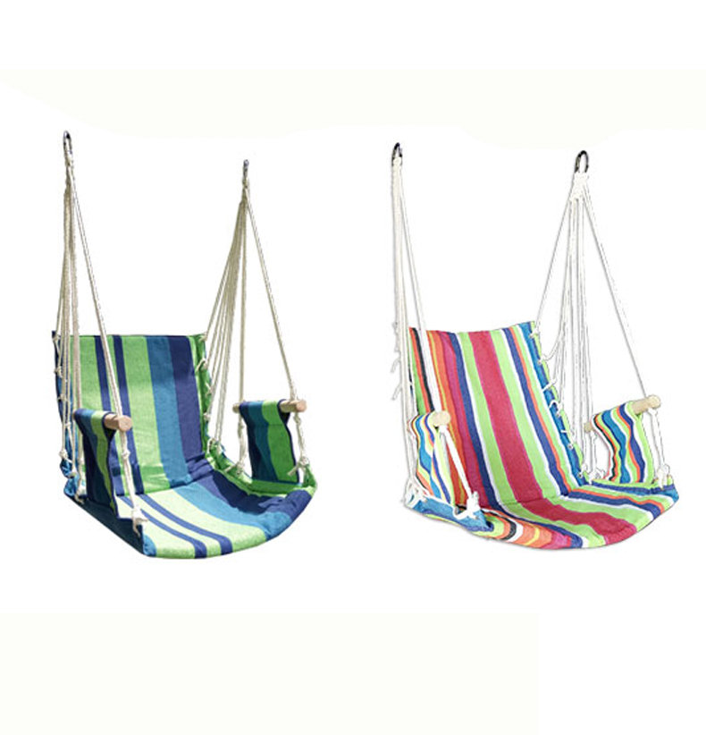 The Armrest Wooden Garden Hammock Kids Furniture Hanging Swing Chair Dome Desk Hammock Can With Rope Sponge Interior Cradle