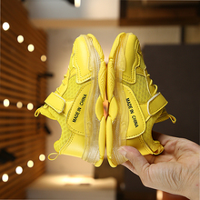 Spring Autumn Kids Shoes 2019 Fashion Mesh Casual Children Sneakers For Boy Girl Toddler Baby Breathable Sport Shoe cctwins kids 2018 spring mesh breathable fashion sneaker children boy brand sport shoe baby girl brand casual trainer f2223