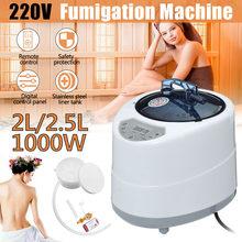 2.0/2.5l sauna gerador para sauna spa tenda terapia corpo fumigação máquina casa vapor terapia adequado para cozinha