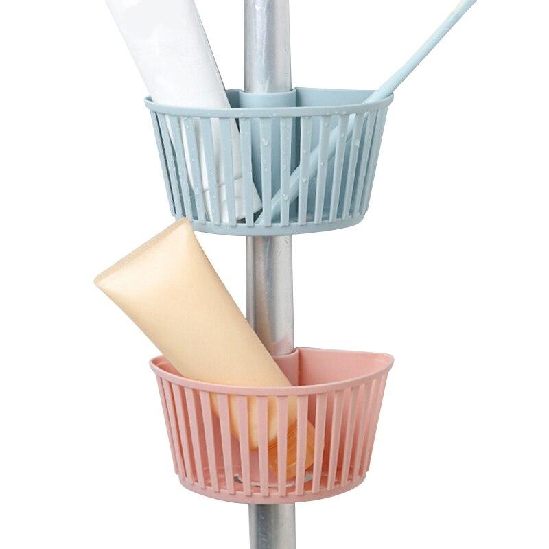 Kitchen Organizer Sink Hanging Storage Basket Plastic Box Makeup Organizer Sponge Soap Bathroom Household Kitchen Accessories