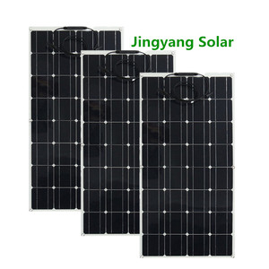 Image 2 - 200W Solar Panel equal 2pcs of 100W panel solar Monocrystalline solar cell 12v solar battery charger for RV home boat 200w 300w