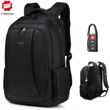 Tigernu Laptop Backpacks Schoolbag Nylon Anti-Theft Travel Male Casual Women Fashion