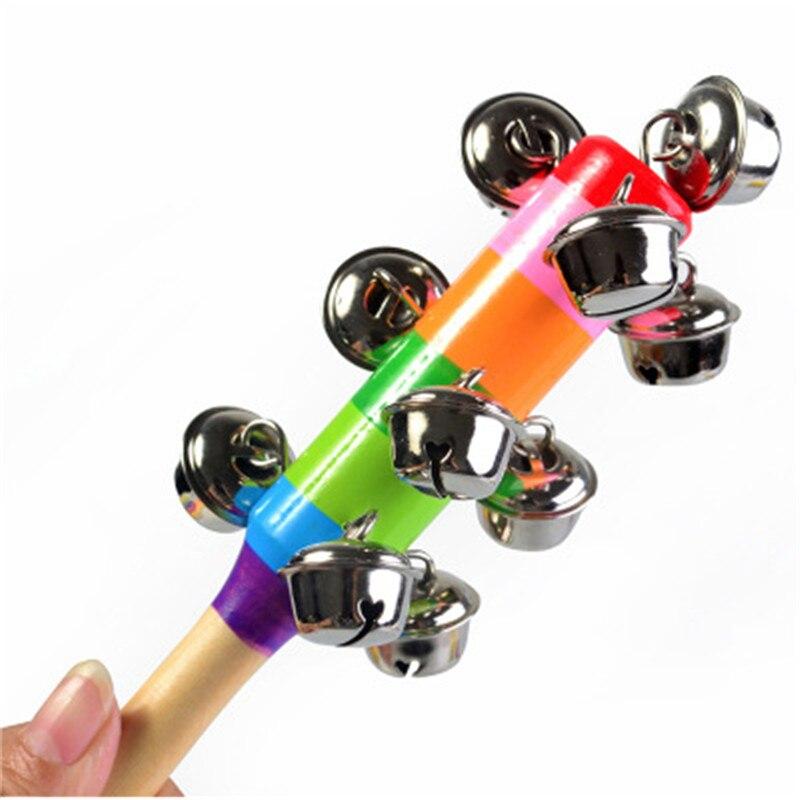 Montessori Educational Wooden Toy 3D Rainbow RattleWooden Sensory Mathematics Jigsaw Brain Training Early Intellectual Learning