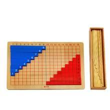 Игрушки Монтессори с деревянной панелью Развивающие и математические