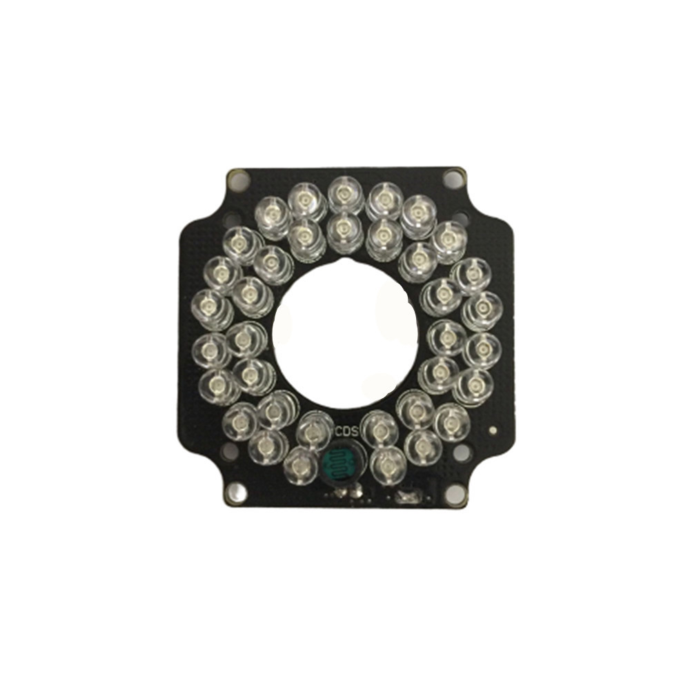 CCTV Camera Fill Light IR LED Light Board 36pcs Infrared 850nm LED For Security Camera  3.6mm Lens  IR Camera With IRC