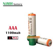 2 sztuk partia oryginalny AAA 1 2V Ni-MH akumulator 1100mah + darmowa wysyłka! tanie tanio EASTFIRE 1100 mAh AAA 1100mAh Baterie Tylko