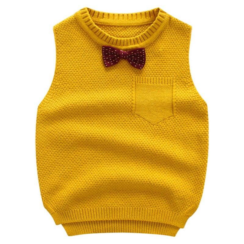 Boy Vest Cardigan Sweater Autumn Toddler School Baby-Boy Clothing Knitted Kids Children