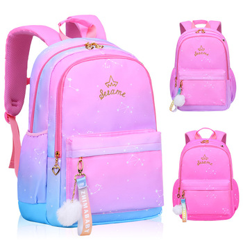 Weysfor Baby Girls School Bag Kids Satchel Primary school backpack princess Orthopedic Backpack schoolbag kids Mochila Infantil 2