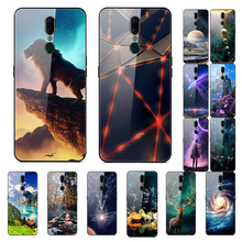 For OPPO F11 Case Tempered Glass Soft Bumper Cover Pro A1K A3 A7 A9 F9 F7 F5 F3 A83 A37 A71 A75 Luxury
