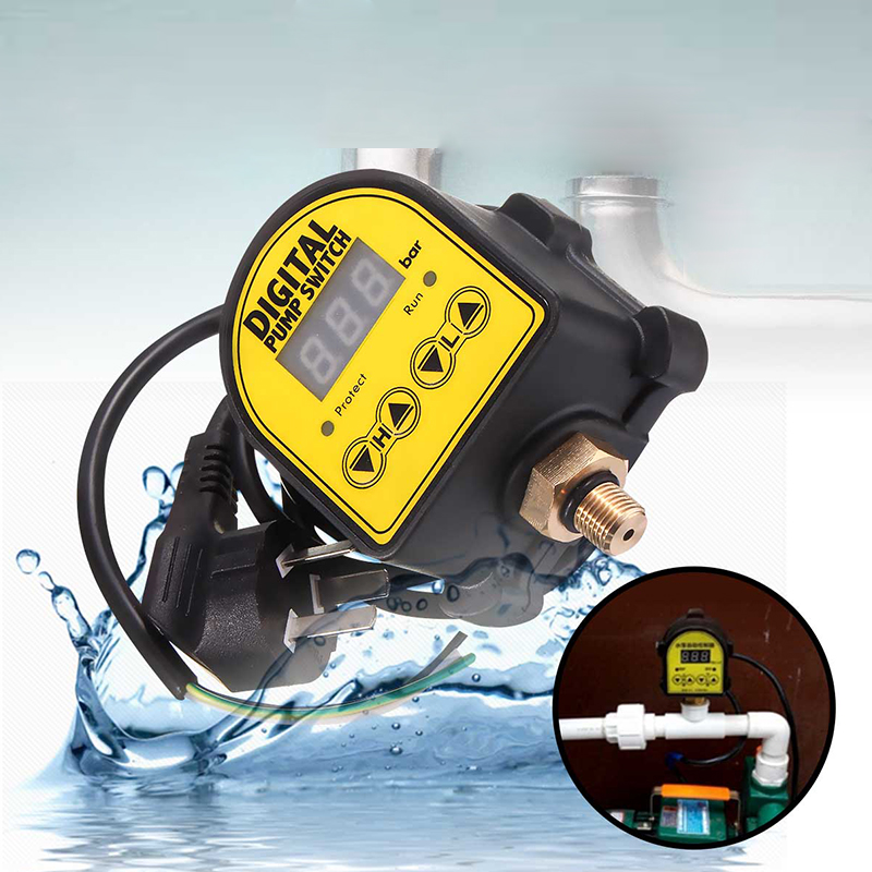 Digital Automatic Air Pump Water Oil Compressor Pressure Controller Switch for Water Pump On Off