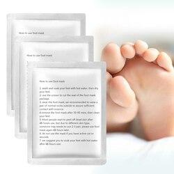 3pairs Baby Feet Exfoliating Foot Mask Magic Skin Peeling Cuticles Heel Dead Skin Feet Mask Foot Peel Mask Socks for Pedicure