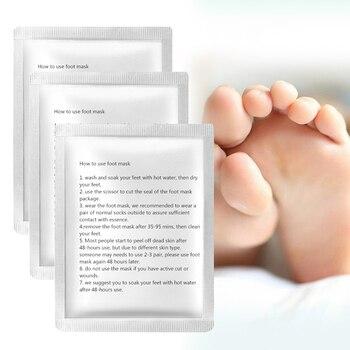 3pairs Baby Fuß Peeling Fuß Maske Magie Haut Peeling Nagelhaut Ferse Abgestorbene Haut Fuß Maske Fuß Schälen Maske Socken für Pediküre