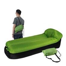 Fast Inflatable Air Sofa Bed Outdoor Garden camping mat Camping Waterproof Lazy Sleeping Bags Foldable Protable Air Sofa lazy sofa outdoor creativity tatami sofa environmental protection inflatable sofa air cushion sofa