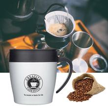 Stainless Steel Vacuum Cup Coffee Cup Office Water Cup Anti-Scald Mug Cup Coffee Home Office Use Travel Thermo Mug vson cloud cup smart coffee mug water drink reminder