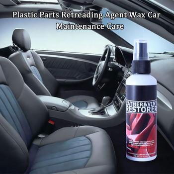Pielęgnacja samochodowa renowacja wnętrza wosk konserwacja samochodu myjnia samochodowa konserwacja 30ml części z tworzyw sztucznych bieżnikowanie środek wosk tanie i dobre opinie CN (pochodzenie)