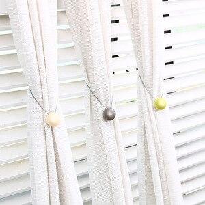 Пряжки для занавесок, простой держатель для занавесок «кошачий глаз», магнитные ремни для занавесок, привязанные в европейском стиле, аксес...